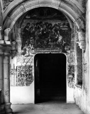"""""""El Tránsito de la Virgen"""" en interior del convento de San Andrés"""