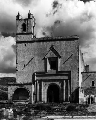 Vista de la fachada del Ex-convento de San Andrés apostol