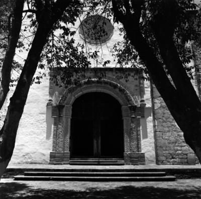 Portada de la iglesia de Nuestra Señora de Loreto, exconvento de Molango