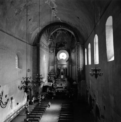 Vista de la iglesia de San Agustín desde el coro