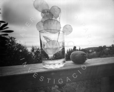 Objetos salen de vaso