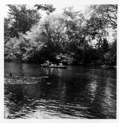 Cruzando el río lacanjá