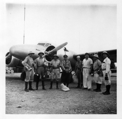I Parte de la expedición a Bonampak