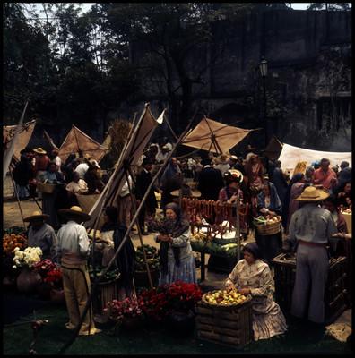 Escena de mercado