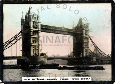 """Vista del puente """"Tower Bridge"""""""