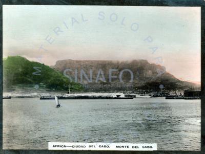 """Vista del """"Monte del Cabo"""" en """"Ciudad del Cabo"""""""
