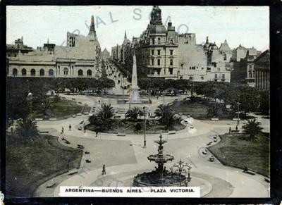 """""""Plaza Victoria [en] Buenos Aires"""", vista en picada"""