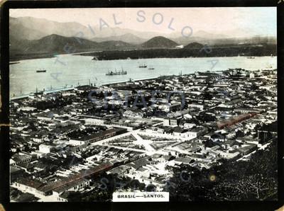 """Vista panorámica del municipio """"Santos"""""""
