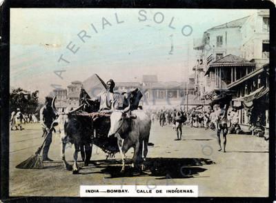 """Hombres en una calle de """"Bombay"""""""