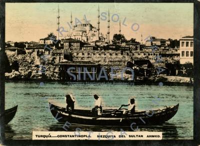 Turquía - Constantinopla. Mezquita del sultán Ahmed