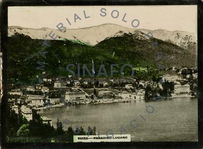 """""""Suiza - Paradiso. Lugano"""", vista del puerto"""