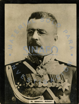 """""""El General Russky"""", retrato de tres cuartos"""