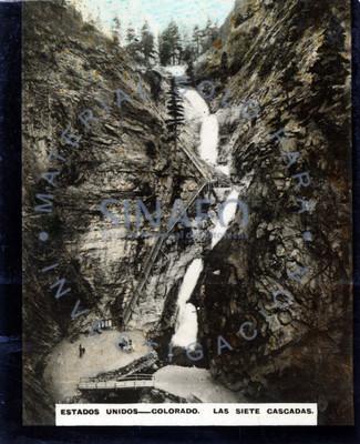 Estados Unidos-Colorado. Las siete cascadas