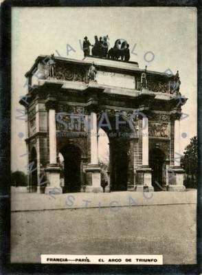 """""""El arco de[l] Triunfo"""" del Carrusel, vista general"""