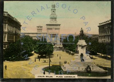 Italia, Milán. Plaza Garibaldi