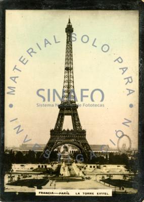 """La Torre Eiffel"", vista general"