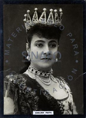 """""""Adelina Patti"""", retrato"""