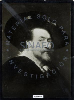 """Peter Paul """"Rubens"""", retrato de tres cuartos"""