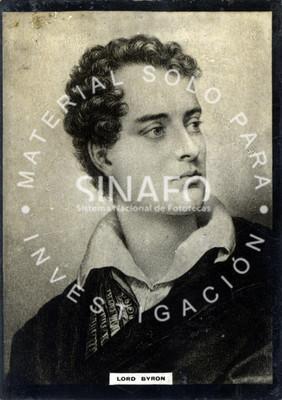 """""""Lord Byron"""", retrato de tres cuartos"""