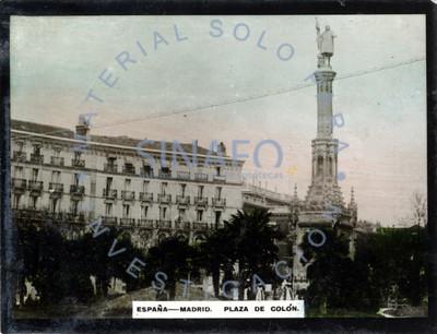 """Vista de la """"Plaza de Colón"""""""