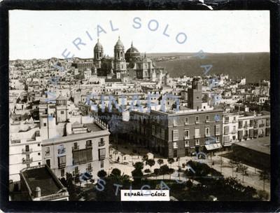 """Vista general de la ciudad de """"Cádiz"""""""