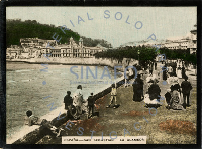 España-San Sebastián. La Alameda