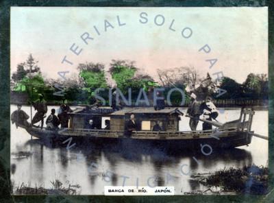 Barca de río. Japón