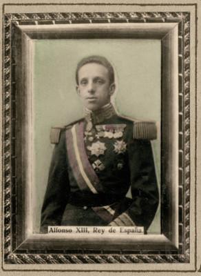 Alfonso XIII Rey de España
