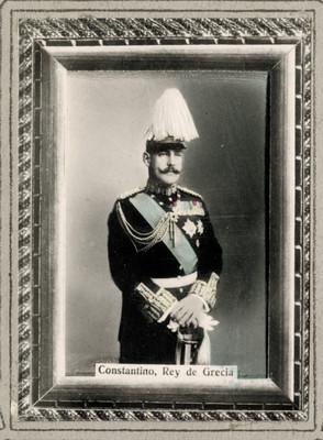 Constantino Rey de Grecia