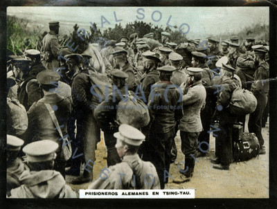 Prisioneros alemanes en Tsingtao