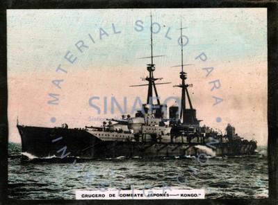 "Crucero de combate japonés ""KONGO"""