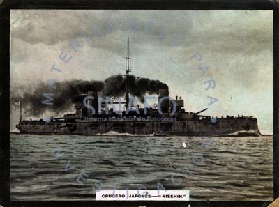 Crucero japonés - NISSHIN -