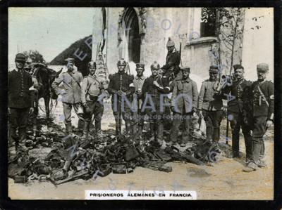 Prisioneros alemanes en Francia