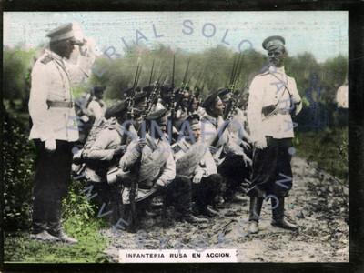 Infantería Rusa en acción