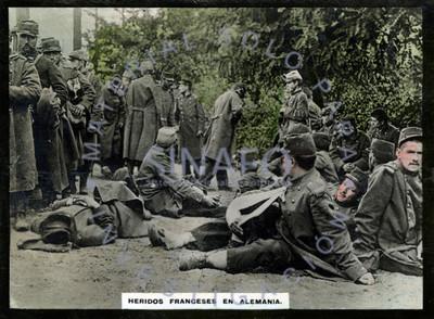 Heridos franceses en Alemania
