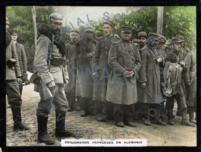 Prisioneros franceses en Alemania
