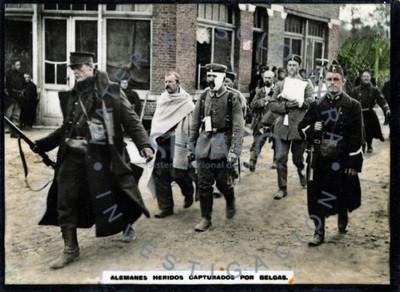Alemanes heridos capturada por belgas