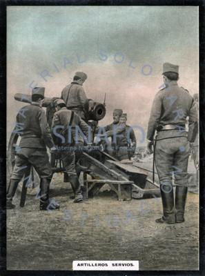 Artilleros Servios