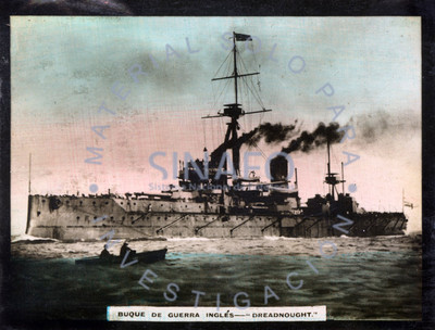 Buque de guerra inglés Dreadnought