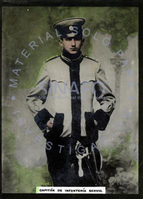 Capitán de infantería servio