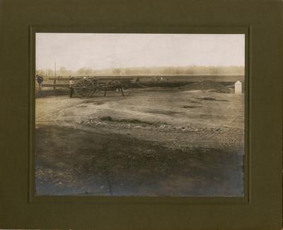 Excavaciones para formar el Gran lago