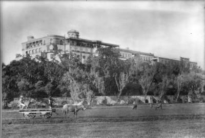 Acueducto y terrenos del Rancho de Anzures que delimitan al Bosque por el lado norte