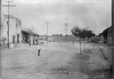 Aspecto de los terrenos del Rancho del Chivatito y de la parte alta de los terrenos de Anzures