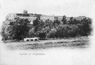 """Castillo de Chapultepec"", reprografía"