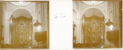 Interior de la Iglesia de San Joaquín