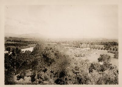 Terrenos cercanos a Chapultepec, paisaje