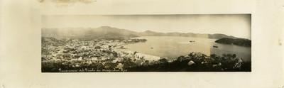 Panorama del Puerto de Acapulco, Méx