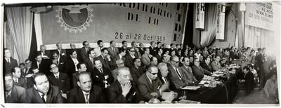 Asamblea de la Confederación de Trabajadores de México con Luis Echeverría Álvarez