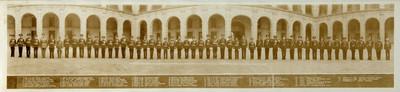 Cuerpo de Defensores de la República Mexicana y sus descendientes. Patio de Honor. Palacio Nacional