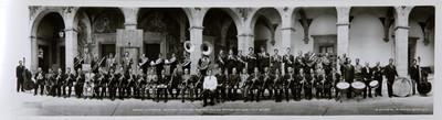 Banda sinfónica Mexicana. Director Roberto Téllez Oropeza